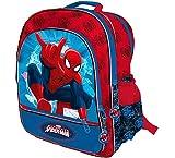 Spiderman- Marvel Mochila 4 Cremalleras a/Carro 41x34x18,5 cms. Spid, Color 0 (Astro Europa AST0939)