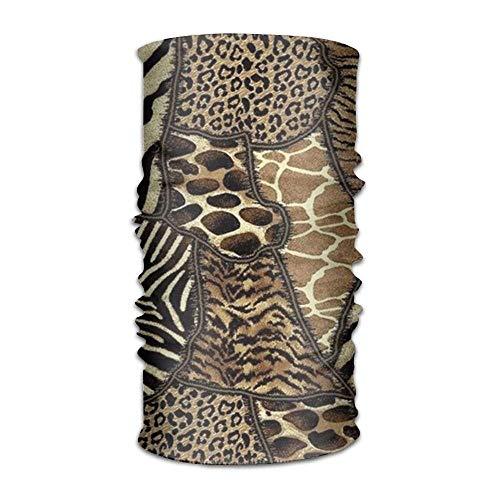 Animal Skin Headwear For Men And Women-Yoga Sports Travel Workout Wide Headbands,Neck Gaiter,Bandana,Helmet Liner,Balaclava,Hair Turban,Scarf