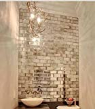 MY-Furniture-Azulejos-de-espejo-plateado-biselado-de-pared-tamao-de-ladrillo-ideal-para-dormitorio-bao-cocina