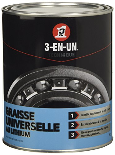 3-En-Un Technique, Pot de graisse universelle au lithium 1 kg
