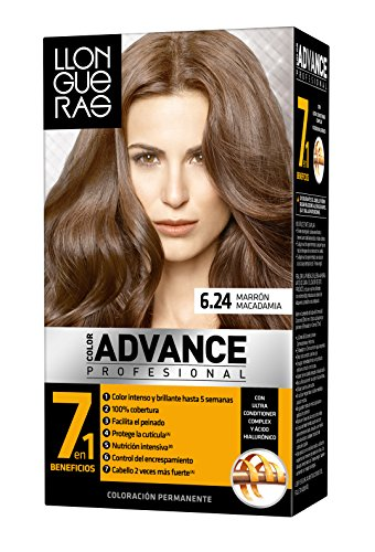 LLONGUERAS LLONGUERAS COLOR ADVANCE hair colour #6,24-macadamia brown