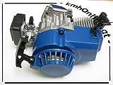 kmhOnline Pocket Bike Motor 49cc 3,5 PS kleines Tuning (blau)