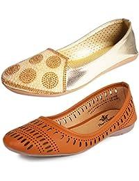 Thari Choice And Ziaula Woman Belly Shoe Pack of 2