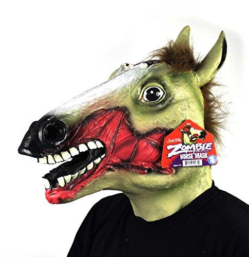 Maske ZOMBIE HORSE HEAD (Zombie Pferd)
