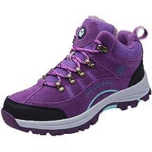 BBestseller Waterproof Zapatos Botas de Senderismo para Mujer Sneakers de Low Rise Trekking Ocio al Aire