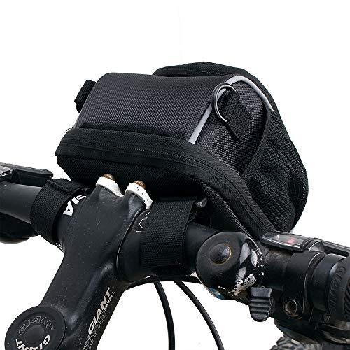 LQUYY Bolsa de Bicicleta Impermeable de la Bici de montaña del Bolso del Coche de la Cabeza del Paquete