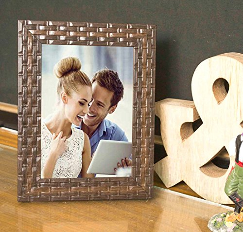 Painting Mantra Brown Bar Table Wood Photo Frame (Photo Size 5x7 inches,...