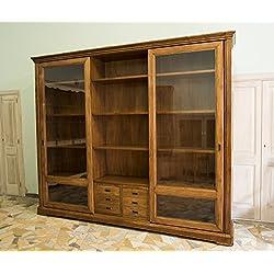 Ebanisteria Gambella - Librería con puertas correderas