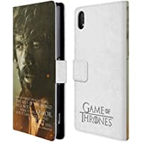 Official HBO Game Of Thrones Tyrion Lannister Character Portraits Leather Book Wallet Case Cover For Sony Xperia Z2