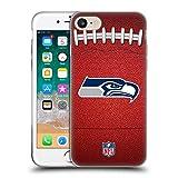 Head Case Designs Offizielle NFL Fußball 2018/19 Seattle Seahawks Soft Gel Huelle kompatibel mit iPhone 7 / iPhone 8