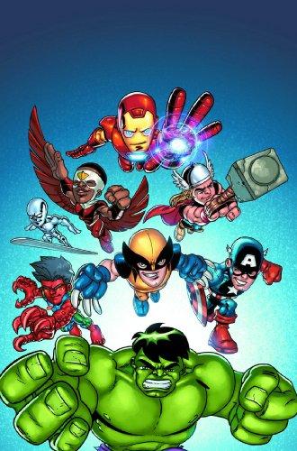 Marvel Super Hero Squad digest
