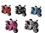 Seranova Kinder Motorrad Elektrofahrzeug Bike Akku Kindermotorrad Elektromotorrad in 5 Farben (Silber)
