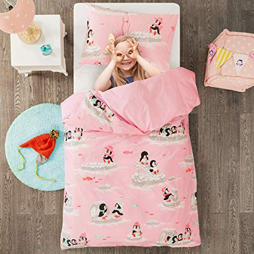 Playing Penguins Printed Duvet C...