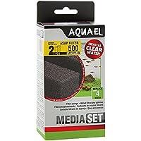 Aquael Filtro de espuma para acuarios ASAP 500 (2 unidades)