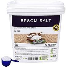NortemBio Sal de Epsom 6 Kg; 2x6 Kg, Fuente concentrada de Magnesio, Sales
