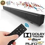 Soundbar für TV Geräte, Bluetooth Lautsprecher,Dolby Digital, HDMI, USB,Surround-Sound-Expansion,Sound System Schwarz