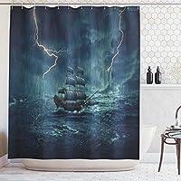 ABAKUHAUS Shower Curtain mp7