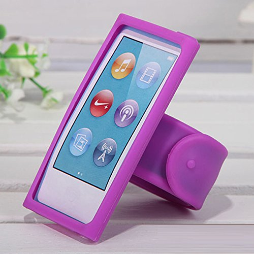 Zhhlinyuan MP3/MP4 Sports Running Silicone Wrist Strap Case Cover für iPod nano 7 8 21CM Ipod Nano Silicon Cover