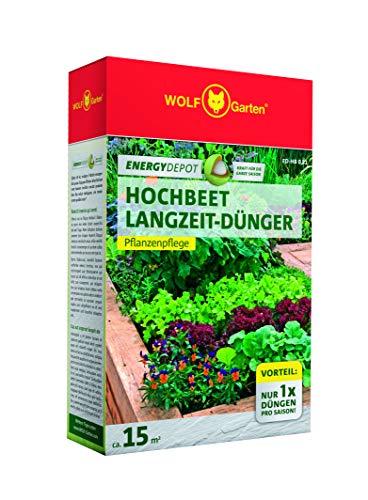 WOLF Fördert das Bodenleben durch wertvolle organische Substanz