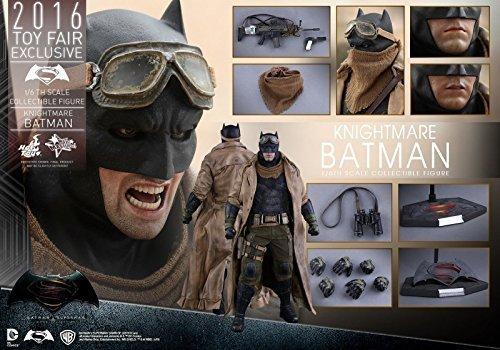 HOT TOYS 1/6 DC BATMAN V SUPERMAN MMS372 KNIGHTMARE BATMAN FIGURE 2016 FAIR EXCLUSIVE
