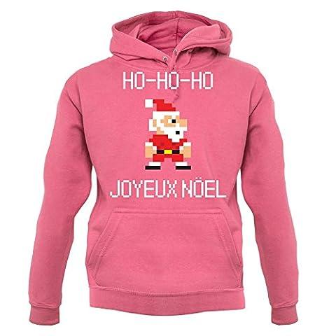 HOHO Joyeux Noël - Unisex Sweat/Pull - Rose foncé - M