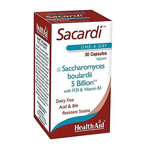 Sacardi™(Saccharomyces boulardii) 5mrd. 30 veg.Kaps. HA (vegan)