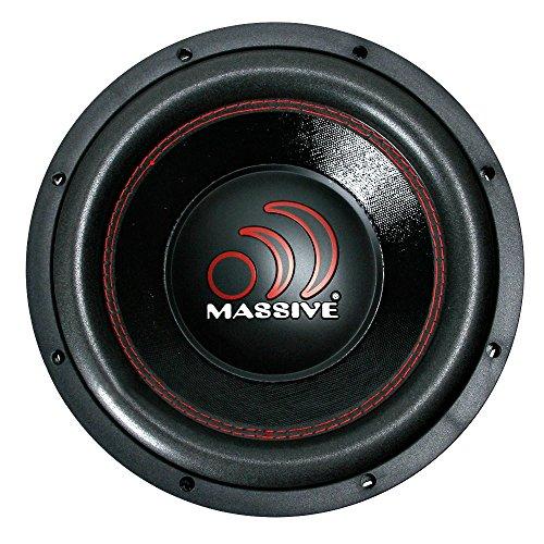Autostyle MS GTX104 Massive Subwoofer 4 und 4, 10 Zoll (Massive Car-audio-lautsprecher)