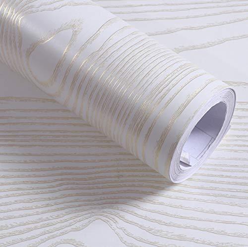 fenjinsheng Fliesenaufkleber 60X300Cm Holzmaserung Kontaktpapier Möbel PVC Selbstklebende Tapete Renoviert Schlafzimmer Kleiderschrank Tür Dekorative wasserdichte Aufkleber (Renoviert, Schlafzimmer-möbel)