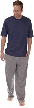 Cargo Bay Mens 2 Piece Pyjama Set Short Sleeve Top PJ Bottoms New Lounge Wear
