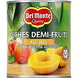 del monte Pêches demi-fruits au jus sans sucres ajoutés - ( Prix Unitaire ) - Envoi Rapide Et Soignée