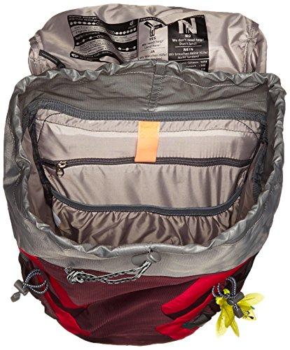 Deuter Futura Pro 34 SL Wander-Rucksack 34264-5522 Aubergine/Fire - 34 Liter Aubergine/Fire