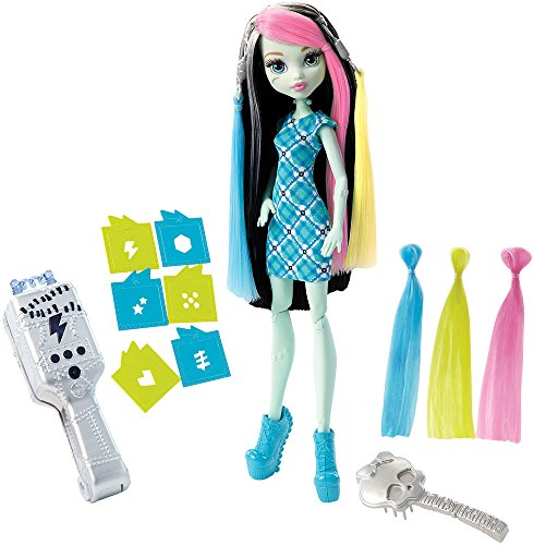 Monster High Muñeca Color Azul Mattel Spain DNX36