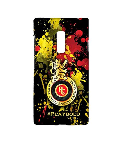 Macmerise Licensed Royal Challengers Bangalore RCB Premium Printed Back cover Case for OnePlus 2