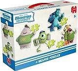 Disney Pixar Monsters University 4-in-1 Shaped Jigsaw Puzzles