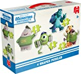 Monsters University 4 Shaped Puzzles (6 - 12 Pezzi)