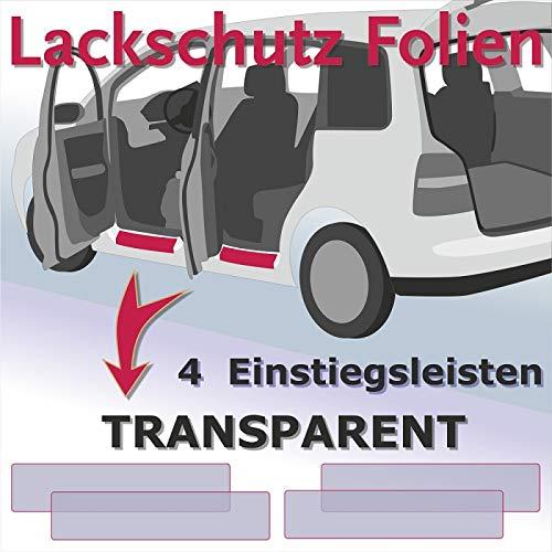 Einstiegsleisten Lackschutzfolie Schutzfolie auto Folie Transparent Türeinstiege Einstiege VS-Sport 2095