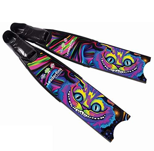 Unbekannt Aletas Material de Fibra de Carbono Puro Usado para Snorkeling y natación...