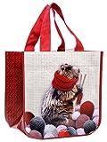Laissez Lucie Faire MARM9331 Petit Sac Cabas Plastique Marmotte 30 x 18 x 30 cm