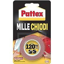 Pattex 1415580 de montaje, 19 mm x 1,5 M