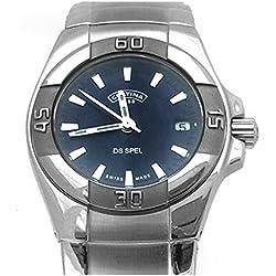 Certina C12971554251 - Reloj, correa de acero inoxidable color plateado