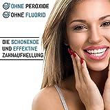 Kokosnuss Aktivkohle Zahnpasta - Ohne Fluorid - Für Weiße Zähne - Minzgeschmack - Natürliche Zahnaufhellung - Activated Charcoal Toothpaste - Bleaching - Zahnbleaching - Teeth Whitening - Aufhellung