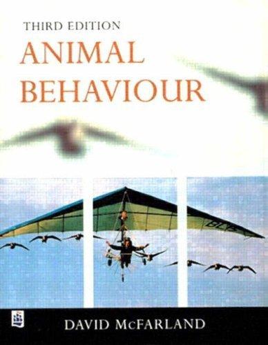 Animal Behaviour: Psychobiology, Ethology and Evolution by McFarland, Dr David (1999) Paperback