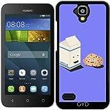 Hülle für Huawei Y560 - Cookies Und Milch Am Besten by ilovecotton