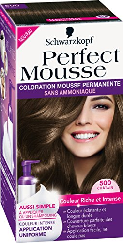 Schwarzkopf Perfect Mousse - Coloration Permanente - Châtain 500