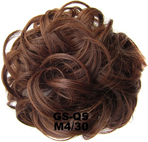 Chignons elastico dei capelli ricci Scrunchie Hair extensions Hair Ribbon Ponytail Hair Bundles Updo capelli sintetici capelli per donne bellezza wedding