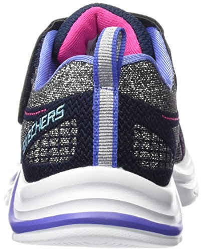 Skechers Swift Kicks, Baskets Basses Fille Bleu (Nvmt Marine/Multicouleur)