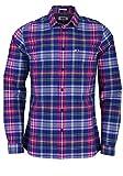 Hilfiger Denim Herren Freizeithemd TJM Essential Big Check Shirt Blau (Limoges/Multi 434), Herstellergröße: XX-Large