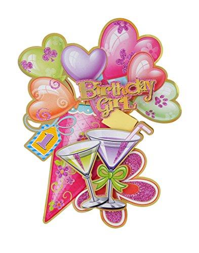 Birthday Girl Wall Sticker