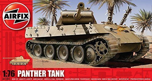 Airfix A01302 Panther Tank 1:76 Scale Series 1 Plastic Model Kit by Airfix