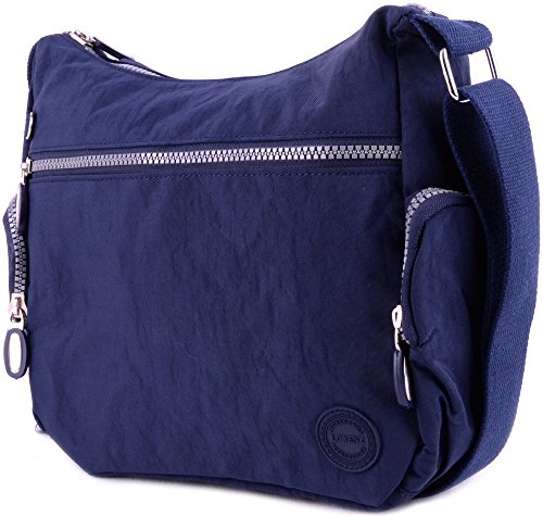 WYE LEATHER, Borsa a tracolla donna Navy